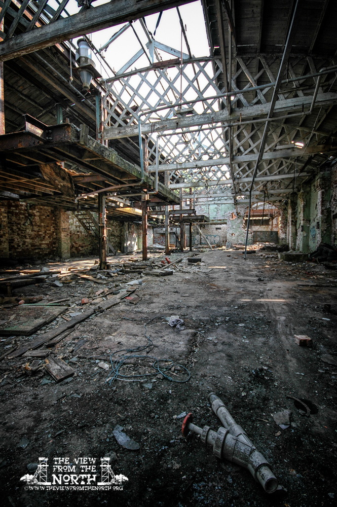 Urban Exploration (Urbex) of Cheadle Bleachworks, Manchester