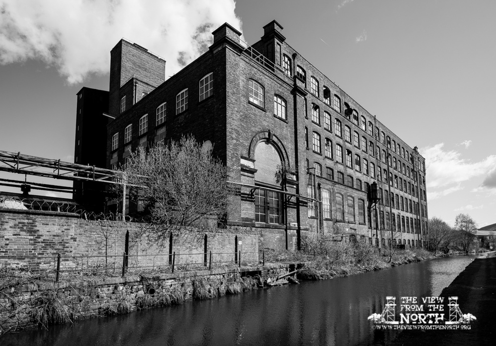 Whitelands Mill No.2, Ashton-under-Lyne - Lancashire Textile Mills