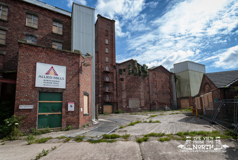 Urban Exploration (Urbex) of Ainscough Flour Mill, Burscough