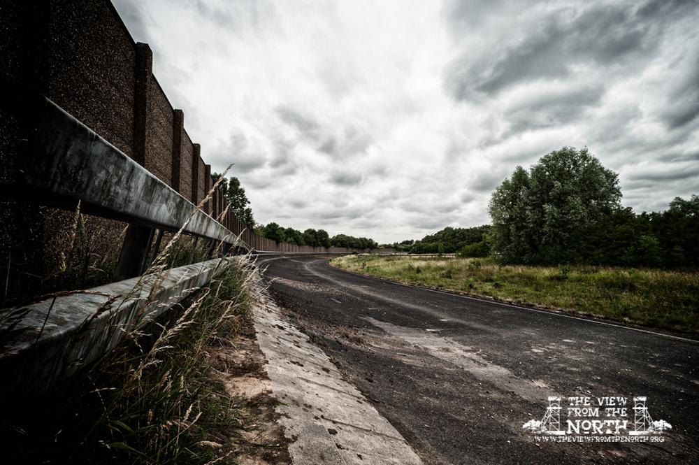 Leyland Motors Test Track at Moss Side in Leyland