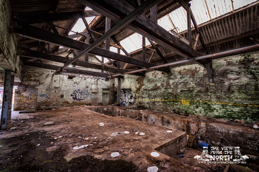 Urban Exploration (Urbex) of Brook Dyeing, Royd Edge Mills, Meltham