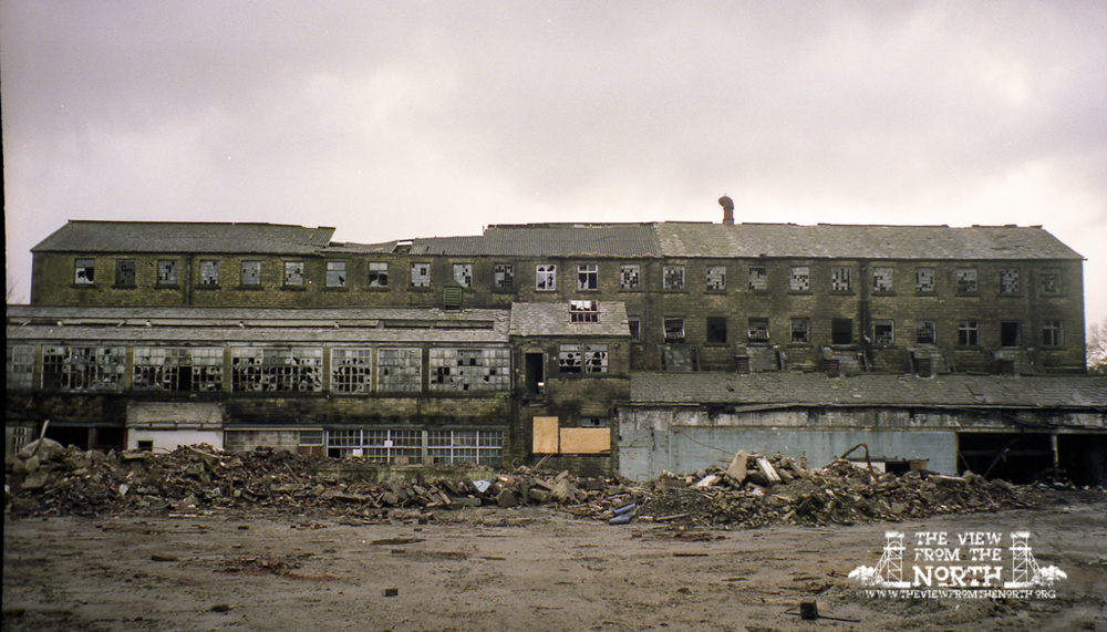 Photographs of Bradshaw Works, Bolton, prior to demolition in 1989