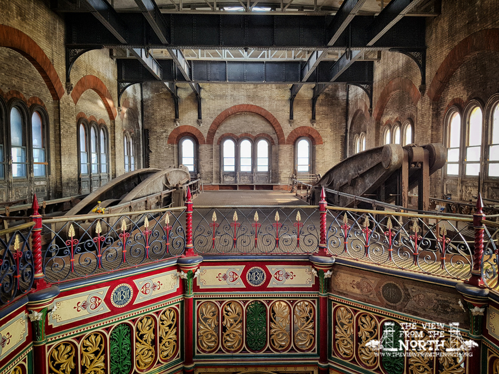 Crossness Pumping Station Beam Engines