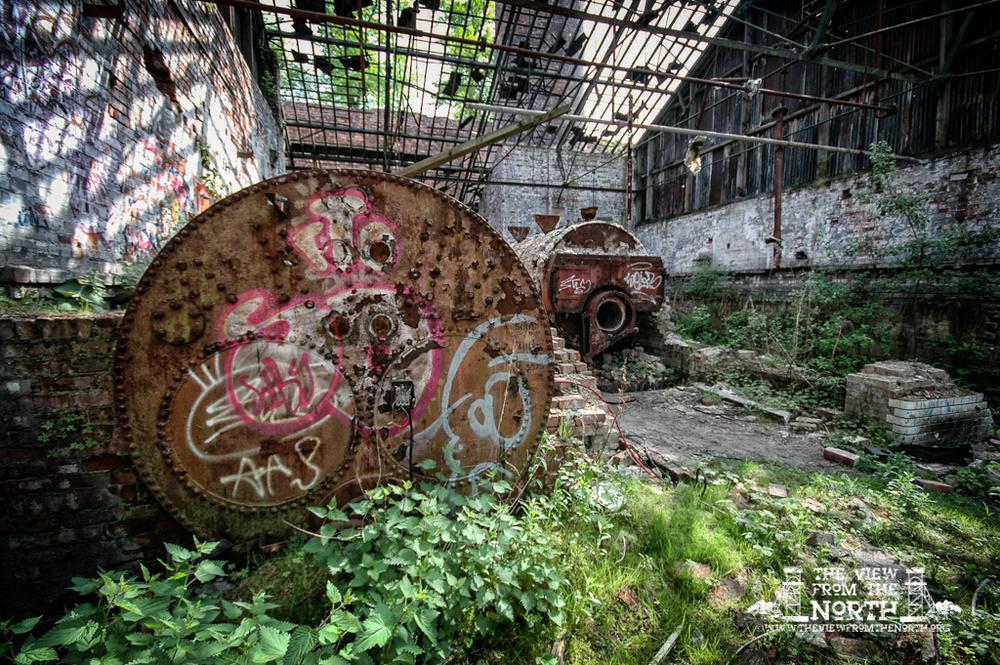 Urban Exploration (Urbex) of Cheadle Bleachworks, Manchester