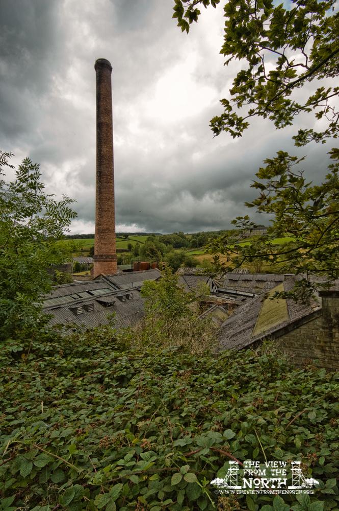 Urban Exploration (Urbex) of Brook Dyeing, Royd Edge Mills, Meltham