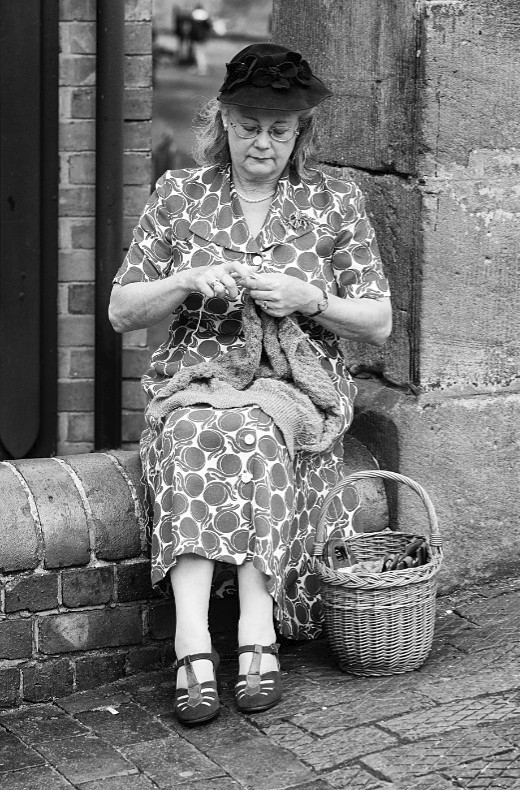 Knitting - Black Country 1940s