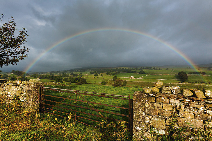 Rainbow in the Dales - Landscapes