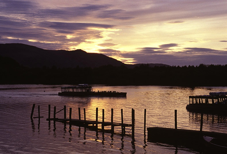 Keswick-sunset - Lake District