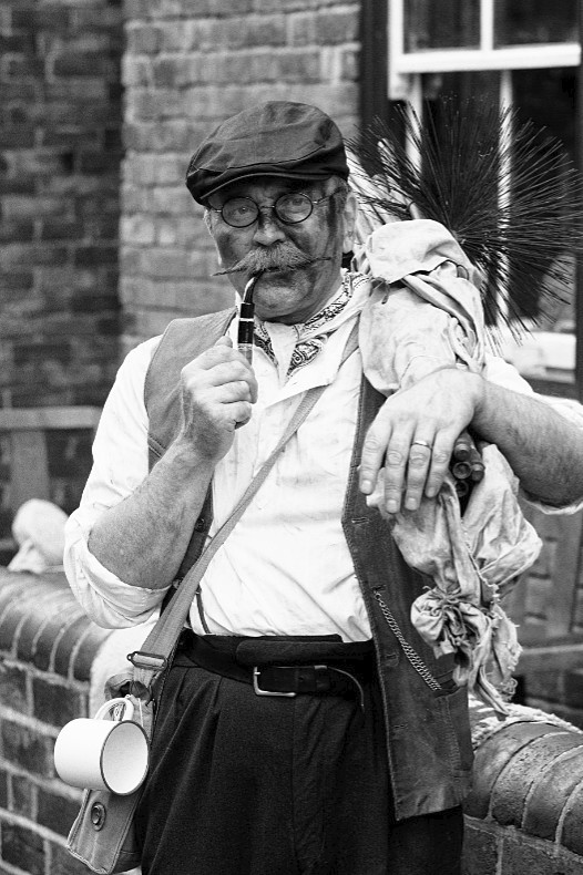 Chimney Sweep - Black Country 1940s