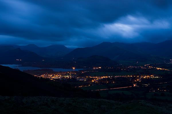 Keswick at Dusk - Lake District