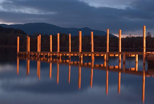 Landing stage - Lake District