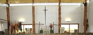 Chapel Altar - National Memorial Arboretum, Staffordshire, England