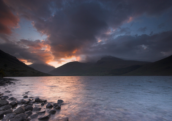 Wastwater Dawn - Landscapes