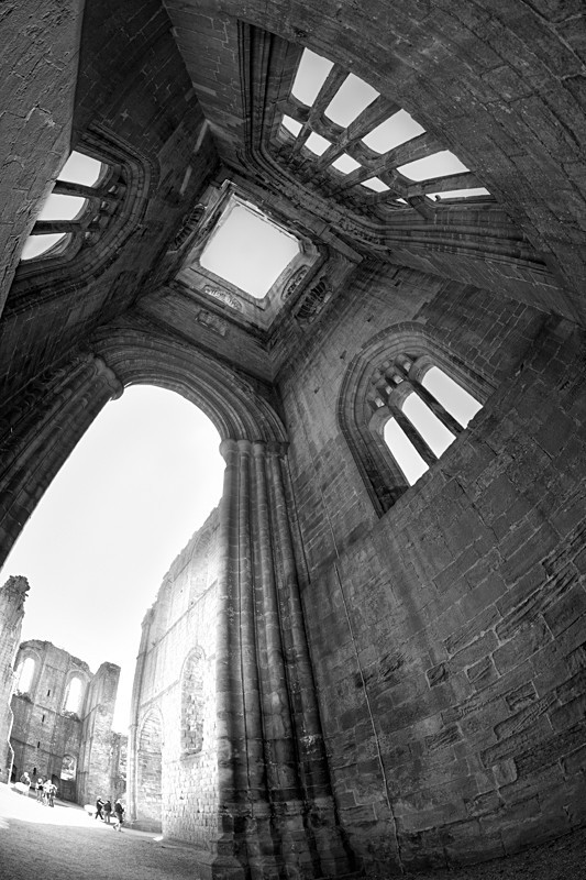 Height, Fountains Abbey - Architecture
