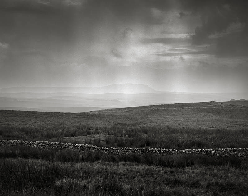 Distant Rain Storm,Ribblesdale Valley - Landscapes