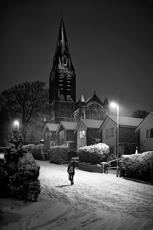 Horsforth Church - Night Exposures
