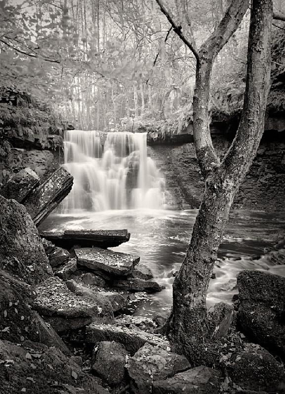 Goitstock Falls landscape