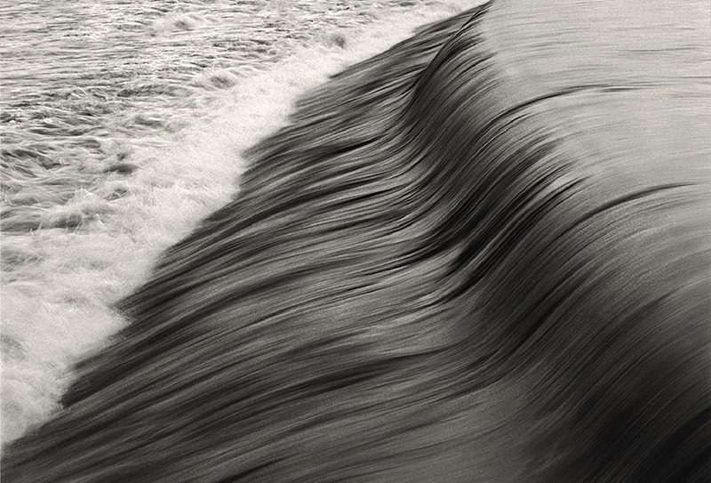 River Wharfe Otley Weir Abstract - Abstract & Still Life