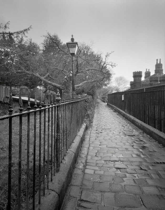 Photograph of Cobbled Street Otley West Yorkshire - Churches & Architecture