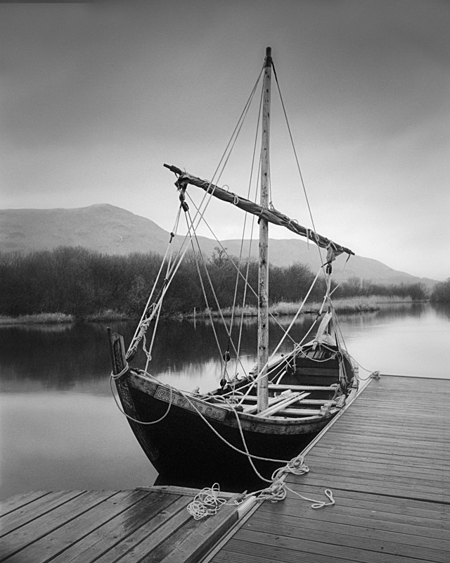 """The Gift of the Gael"" on Derwent Water - Water"