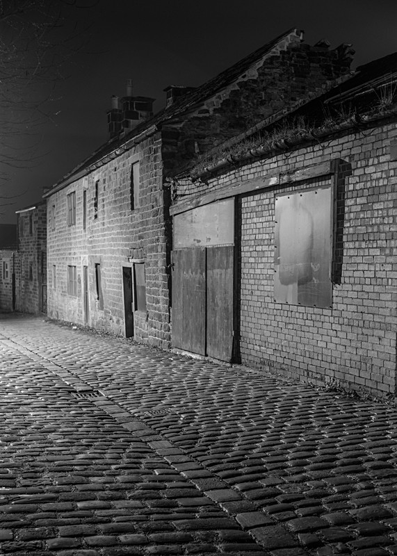 Old Buildings, Gay Lane Otley - Otley and Ilkley at Night
