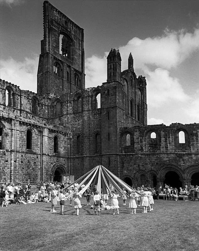 Maypole Dancing at Kirkstall Abbey