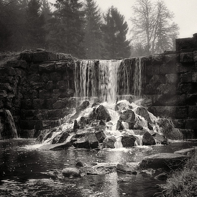 Falls at Harewood photograph