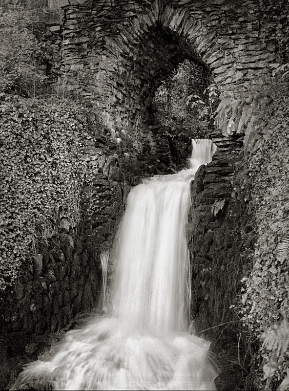 Arch and Clapham Falls - Water