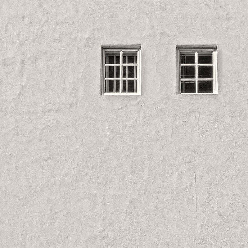 Windows Abstract in Black & White Leeds - Abstract & Still Life