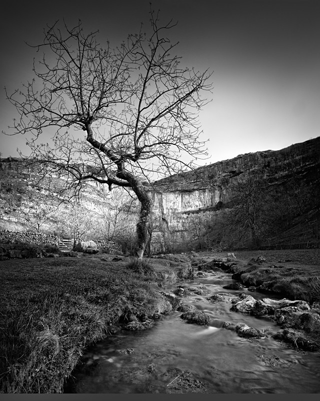 Approach to Malham Cove - Landscapes