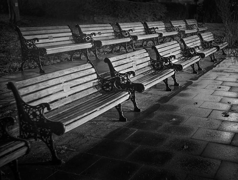 Empty Seats Ilkley - Otley and Ilkley at Night