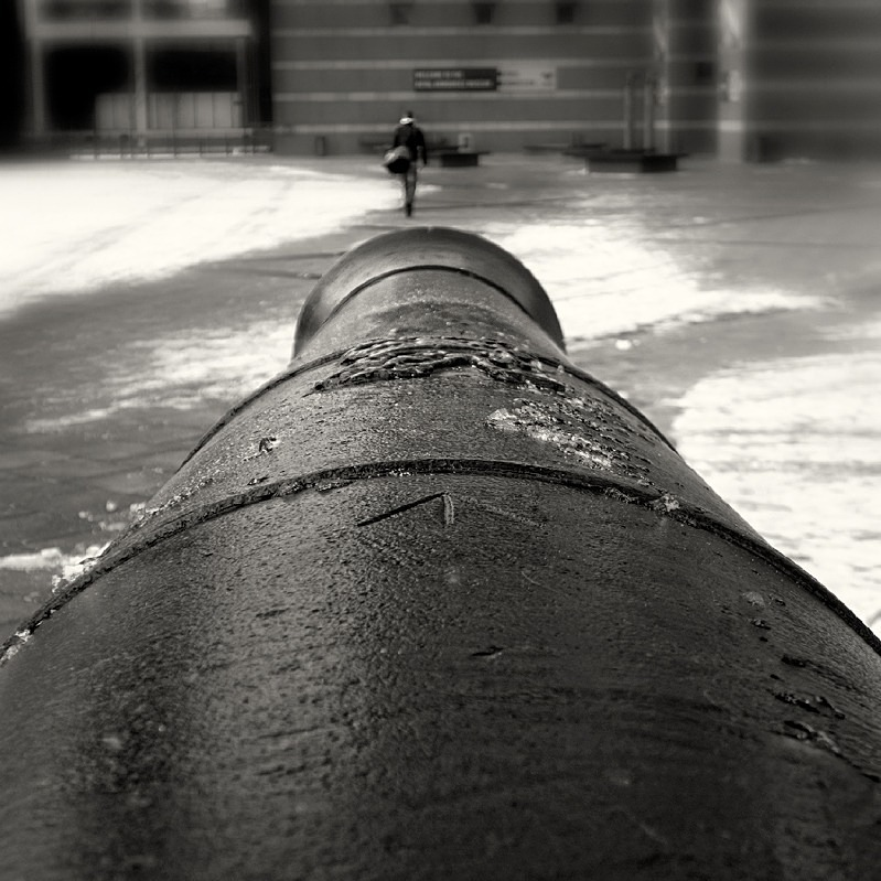 Gun Barrel Gun Barrel Royal Armouries Museum in Leeds - Abstract & Still Life