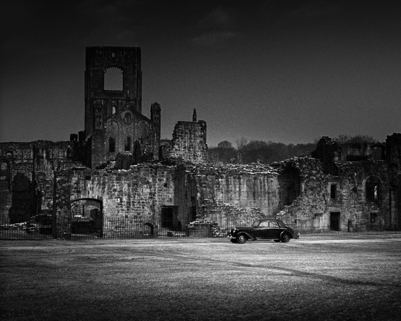 Kirkstall Abbey and Car - Architecture