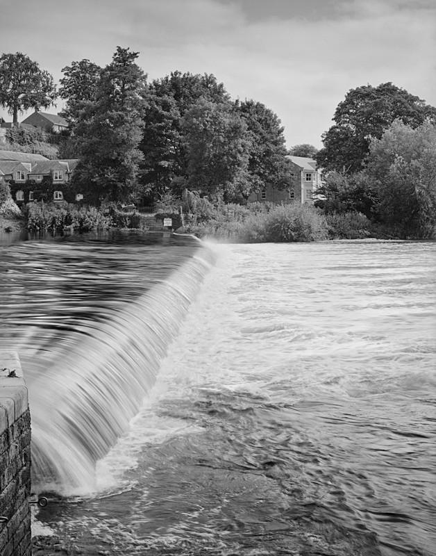 Boston Spa Weir - Water