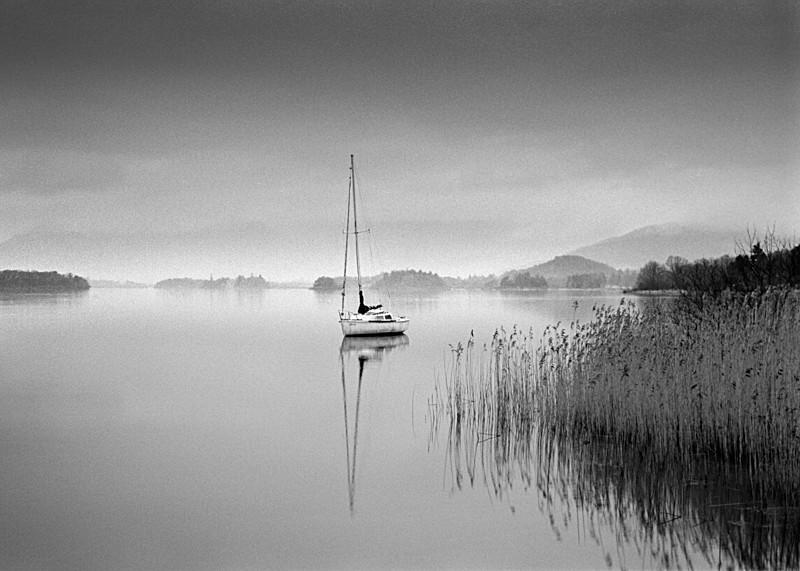 Resting Boat, Derwent Water - Water