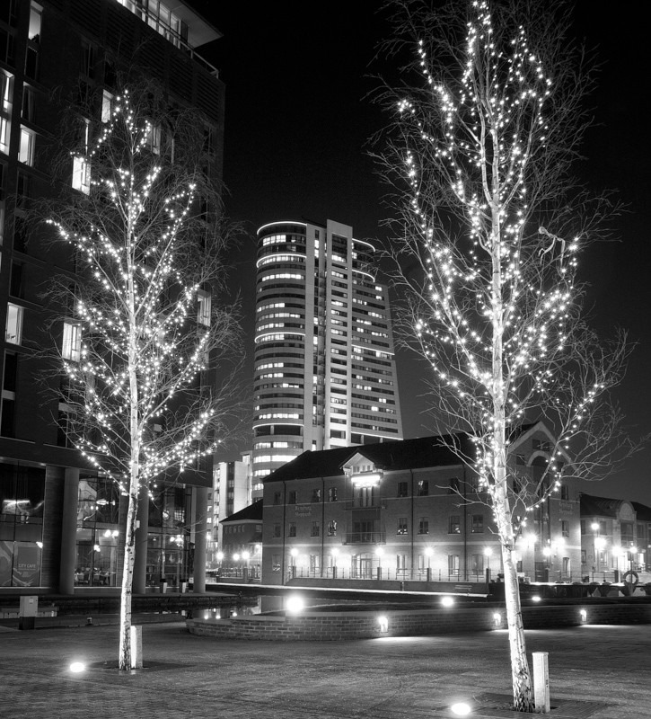 Xmas in Leeds - Night Exposures