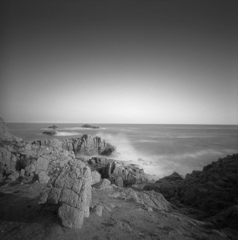 Jersey Coast 5 - Coastal Pinhole pictures