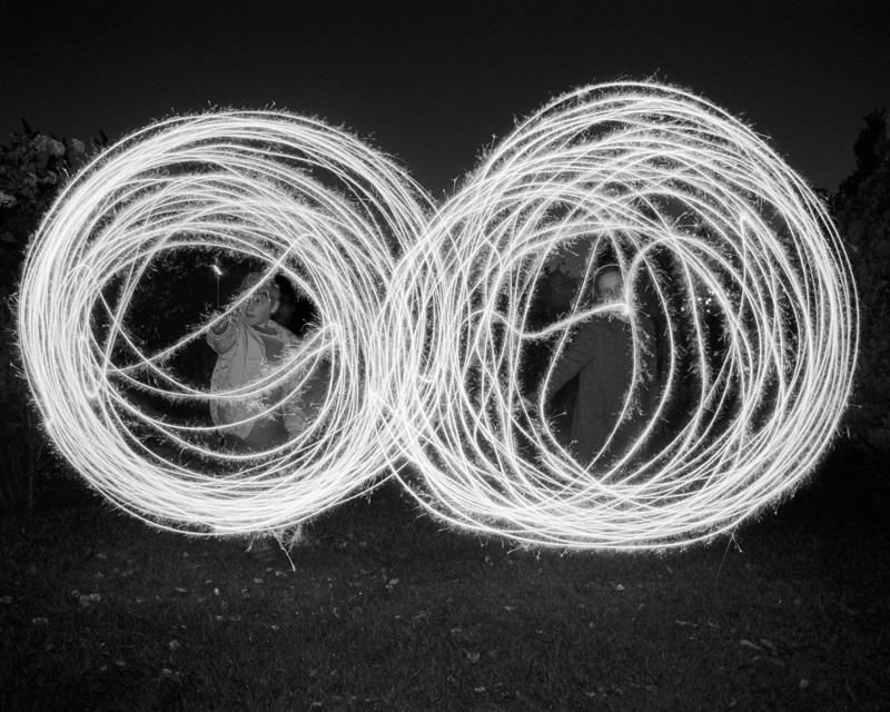Circles of Light - Night Exposures