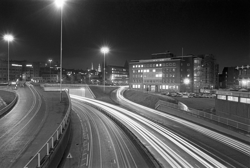 Leeds Inner Ring Road - Night Exposures