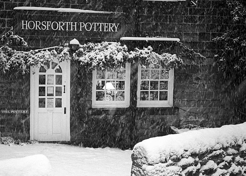 Horsforth Pottery, Station Road - Night Exposures