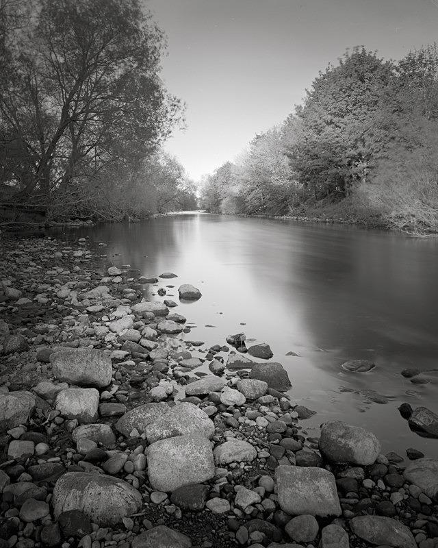 River Wharfe Scene, Otley - Landscapes