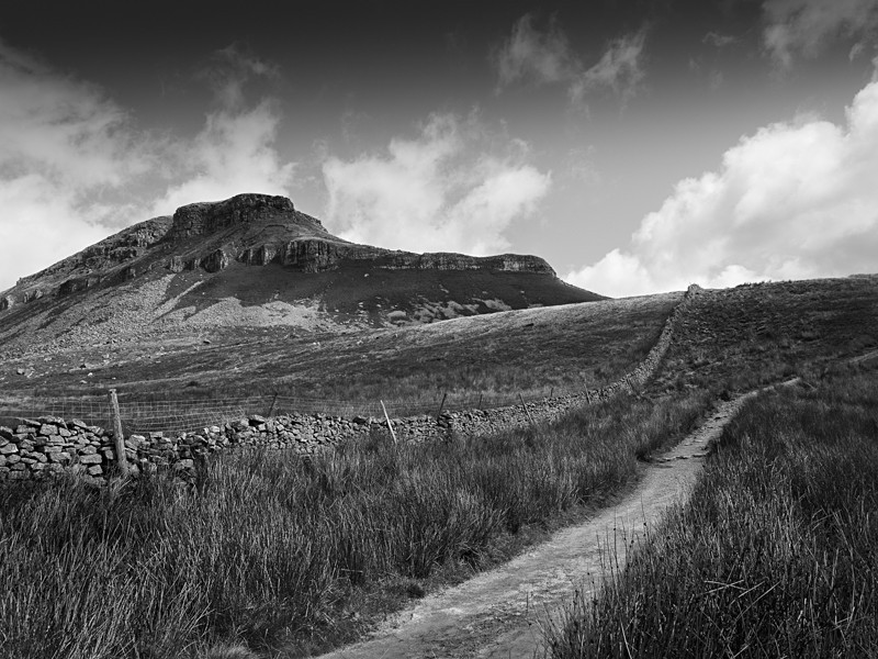 Approach to Pen-Y-Ghent - Landscapes