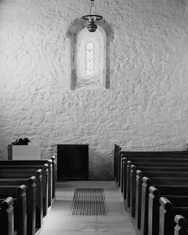 Window, Stainburn Church - Architecture
