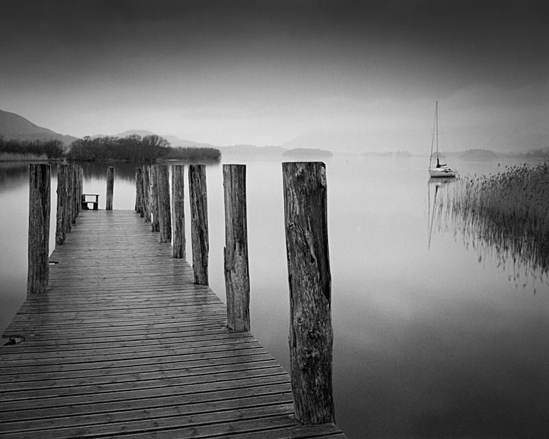 Lodore Boat Landing, Derwent Water - Water