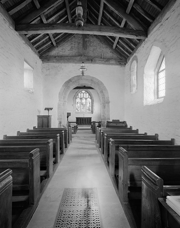 Church Aisle, Stainburn Church - Architecture