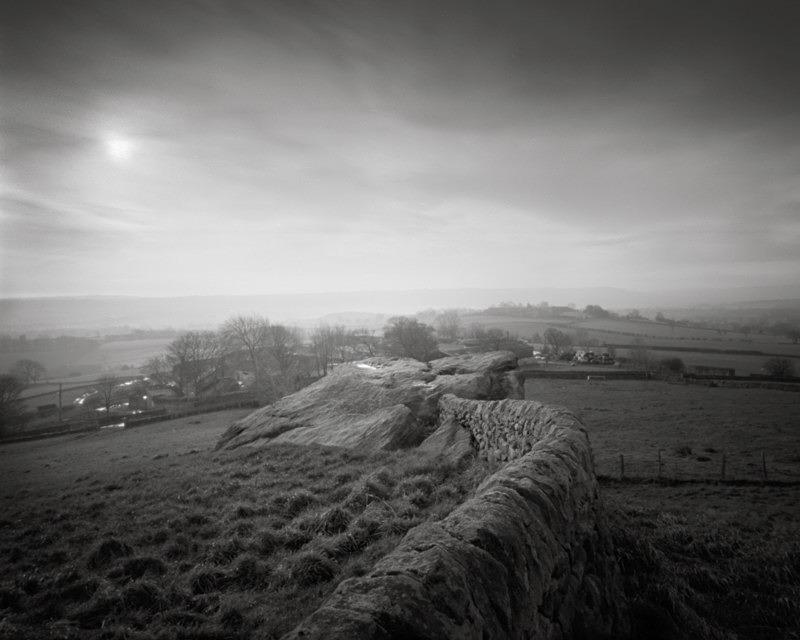 Armscliffe Crag Wall north rigton