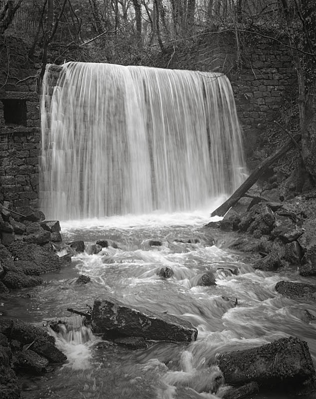 Ellar Ghyll in full flow, Otley - Water