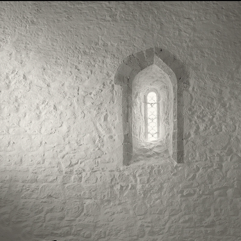 West Window of St Marys Church Stainburn - Abstract & Still Life
