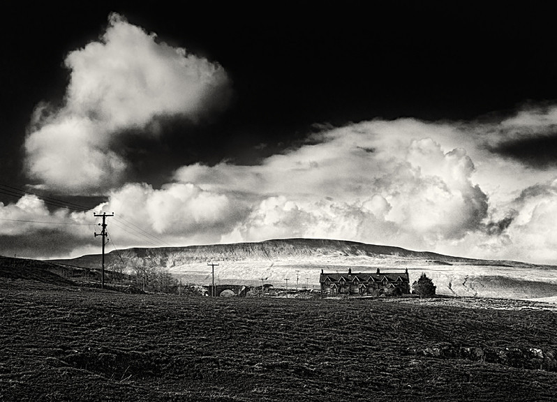 Whernnside in Black and White