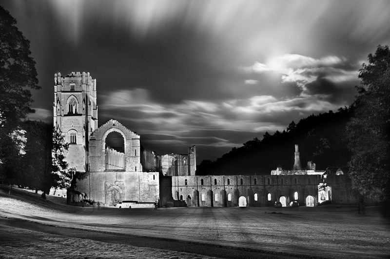 Fountains Abbey - Night Exposures